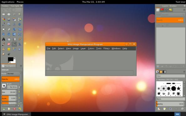 GIMP 2.10.8