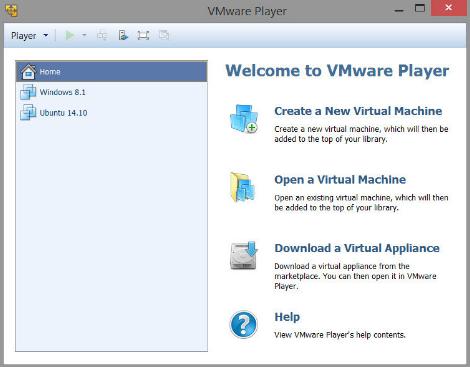 VMware Player 15.0.2